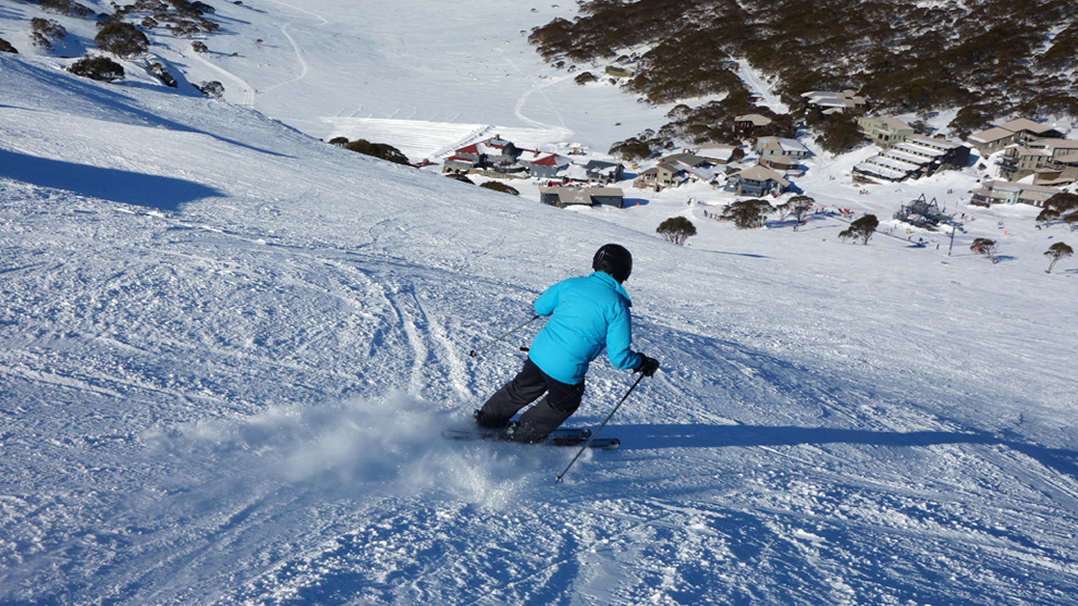 winter holiday ski australia